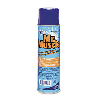 Mr. Muscle Oven & Grill Cleaner