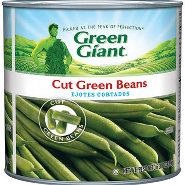 Green Giant® Cut Green Beans - 6 lb. 7 oz. can
