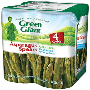 Green Giant® Asparagus Spears - 4/15 oz. cans