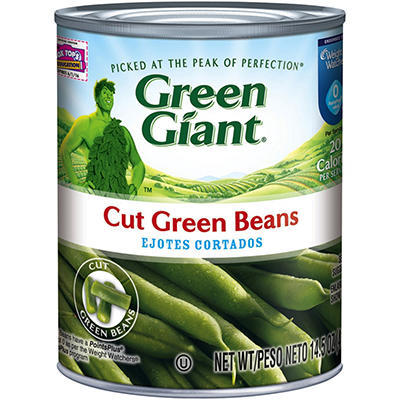 Green Giant Cut Green Beans - 14.5 oz. each - 12 pk.