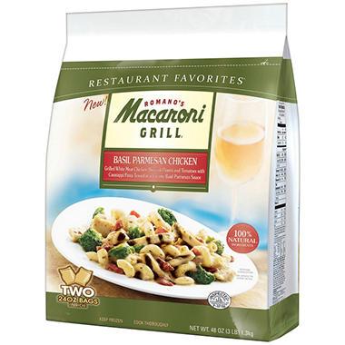 Romano's Macaroni Grill® Basil Parmesan Chicken - 2/24 oz. Bags