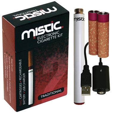 Mistic 2 Red Electronic Cigarette Kit - Traditional Flavor