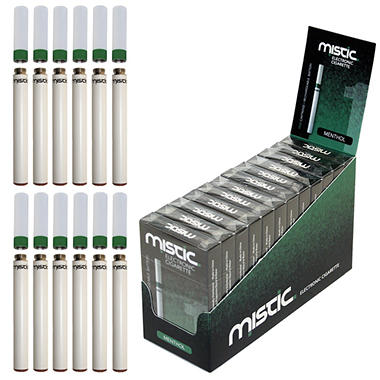 Mistic 1 Green Electronic Cigarette Kit - Menthol Flavor - 12 pk.