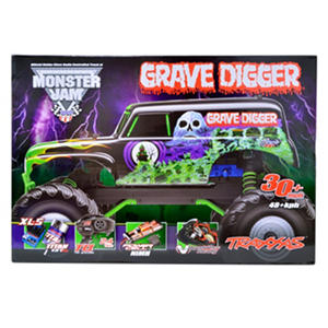 TRAXXIS Grave Digger 1/10 Scale 2wd Monster Truck