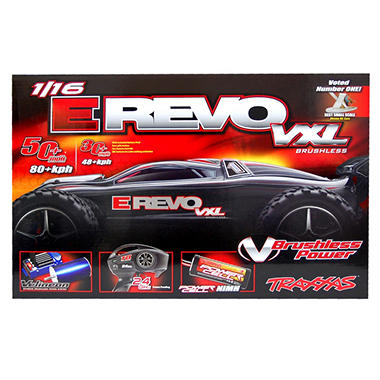 TRAXXAS 1/16 Revo VXL Brushless Read To Race Car