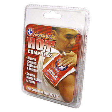 Instant Hot Packs - 12 pk.