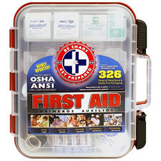 Be Smart Get Prepared First Aid Kit (326 pc.)