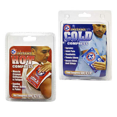 Combo Instant Hot/Cold Packs - 12 ct.