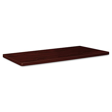 "Basyx Rectangle Tabletop - 36"" x 72"" - Mahogany"