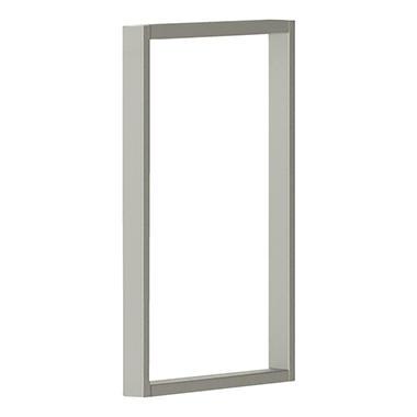HON Voi O-Leg Supports for Overhead Cabinet - Platinum Metallic