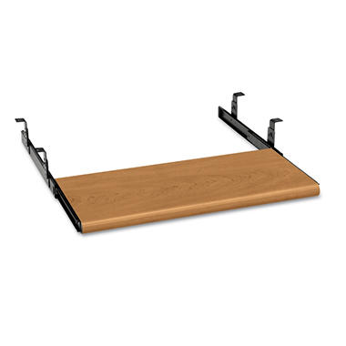 HON - Slide-Away Keyboard Platform - Laminate - Harvest