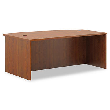 basyx BL Laminate Series Bow Front Desk Shell