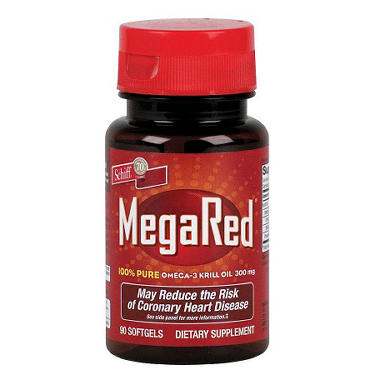 MegaRed Omega 3 Krill Oil - 300mg - 90 ct.