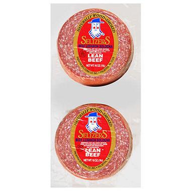 Seltzer's Beef Lebanon Bologna 16 oz. - 2 ct.