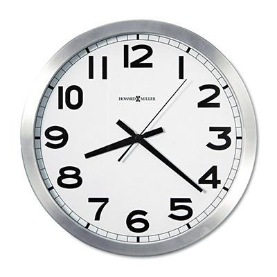"Howard Miller Round 15 3/4"" Wall Clock"