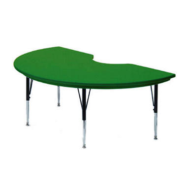 "Kidney-Shaped Activity Table - 48"" x 72"" - Various Colors and Heights"