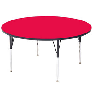 "Correll 36"" Round Activity Table, Select Color"