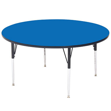 "Round School Activity Table - 48"" - 21 in. to 30 in."