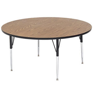 """Correll 60"""" Round Activity Table, Select Color"""
