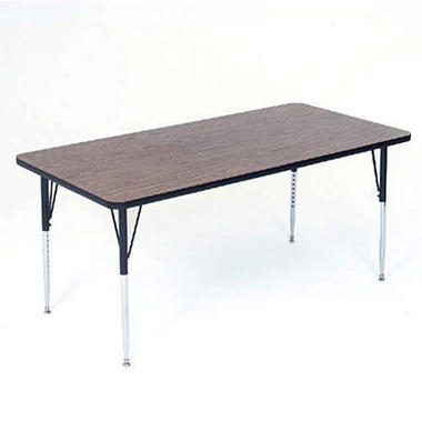 "Correll Activity Table - 30"" x 48"" - Various Colors and Leg Heights"