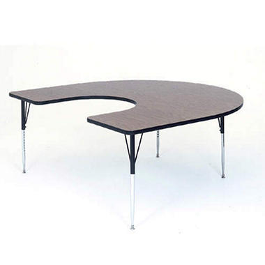 "Horseshoe-Shaped Table - 60"" x 60"""
