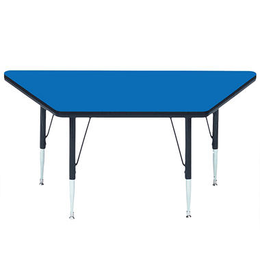 "Trapezoid-Shaped Table - 24"" x 48"""