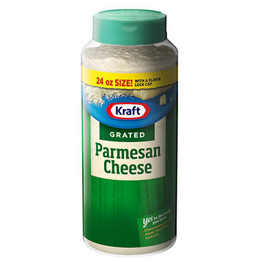 Kraft® 100% Grated Parmesan Cheese - 24 oz.