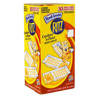 Kraft Crackers 'n Cheez , 95 oz. (30 pks)