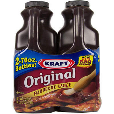 Kraft® Original Barbecue Sauce - 2/76oz