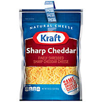 Kraft Sharp Cheddar Finely Shredded Cheese (16 oz., 2 pk.)