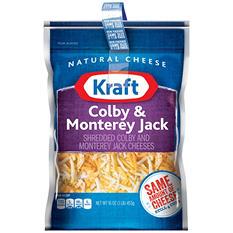 Kraft Colby & Monterey Jack Shredded Cheese (16 oz., 2 pk.)