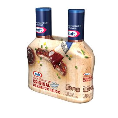 Kraft Original Barbecue Sauce (40 oz. bottle, 2 pk.)