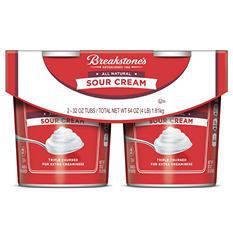 Breakstone's Sour Cream (32 oz. tub, 2 ct.)
