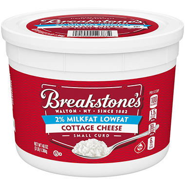 Breakstone's� Cottage Cheese - 3 lb. tub