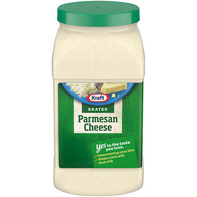 Kraft® Grated Parmesan Cheese - 4.5 lb. container