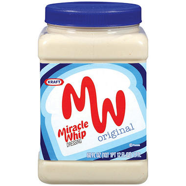 Kraft� Miracle Whip Original Dressing - 60 fl. oz.