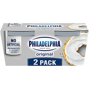 Kraft Philadelphia Regular Cream Cheese Spread - 16 oz. - 2 ct.