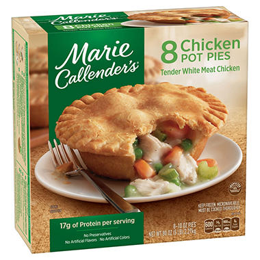 Marie Callender's® Chicken Pot Pies - 8/10 oz.