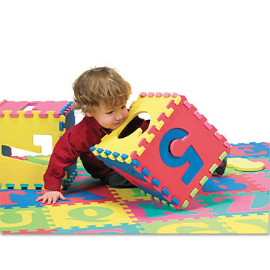 Chenille Kraft Letters and Numbers Puzzle Mat