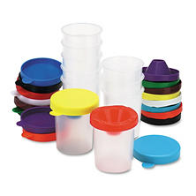 Chenille Kraft® No-Spill Paint Cups - 10/Set