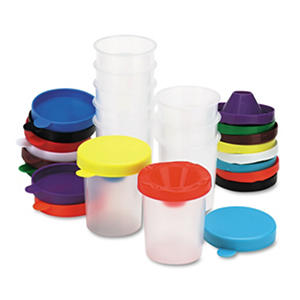 Chenille Kraft? No-Spill Paint Cups - 10/Set