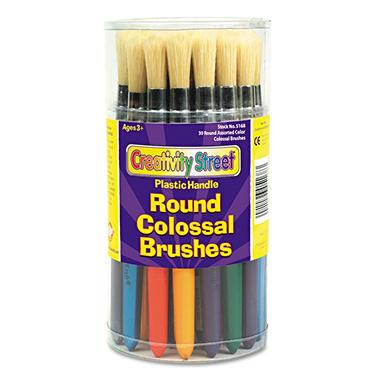 Chenille Kraft Wood Colossal Paint Brushes