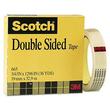 Scotch - Double-Sided Tape - 1 Roll