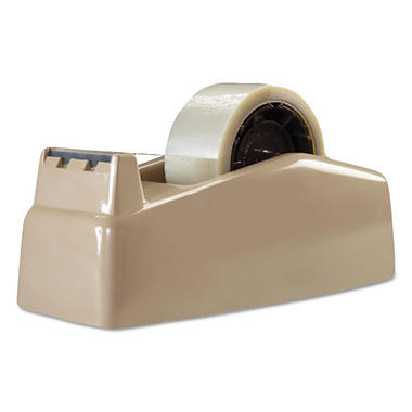 Scotch - Two-Roll Desktop Tape Dispenser, 3