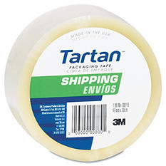 "3M Tartan Shipping Packing Tape - 1.88"" x 54.6 yd - 1 Roll"