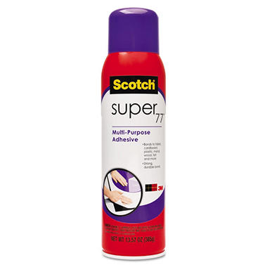Scotch Super 77 Adhesive Spray - 16.7 oz.
