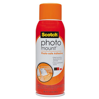 3M Photo Mount Spray Adhesive - 10.25 oz.