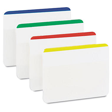 3M Post-it Durable Flat File Tabs
