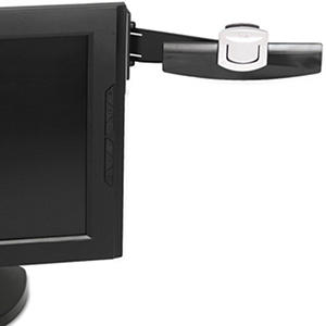 3M Monitor Mount Document Clip w/Adhesive