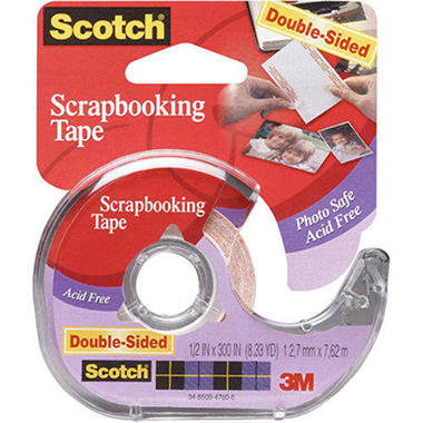 Scotch Scrapbooking Tape Double-Sided - .5